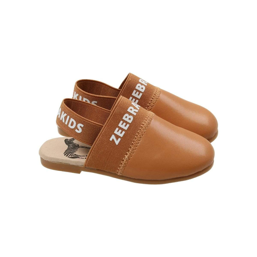 Zeebra Kids Zeebra Toffee Slippers  JellyBeanz Kids