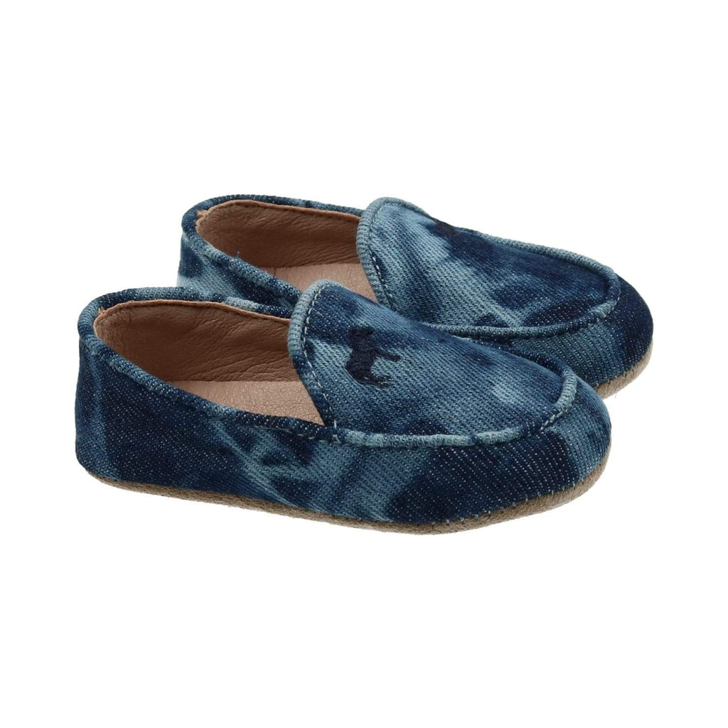 Zeebra Kids Shoes Jellybeanzkids Zeebra Blue Tie Dye Baby Loafer