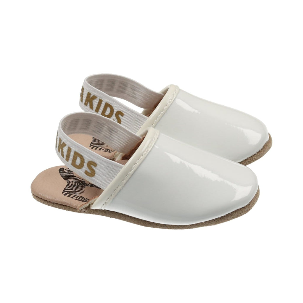 Zeebra Kids Shoes Jellybeanzkids Zeebra Porcelain Logo Slipper