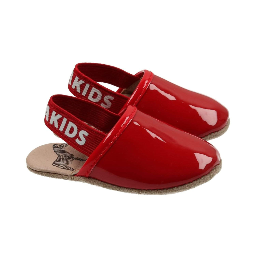 Zeebra Kids Shoes Jellybeanzkids Zeebra Ruby Logo Slipper