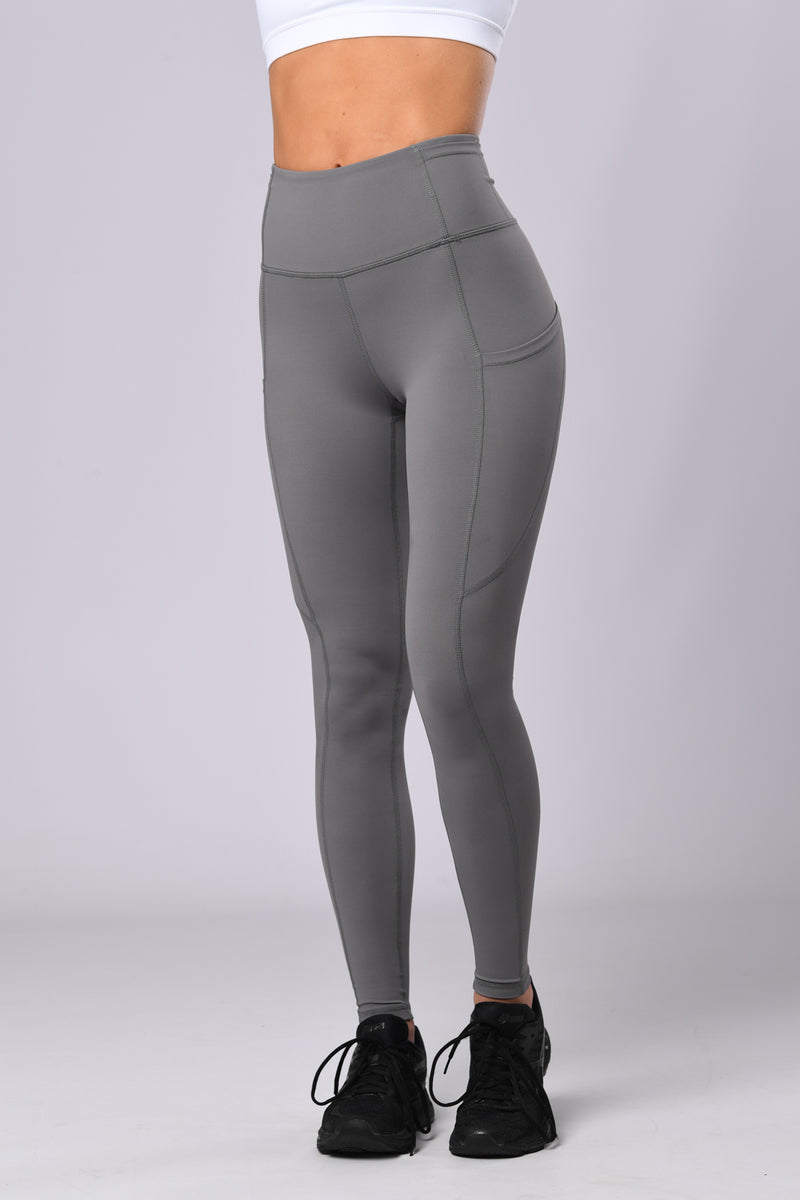 Twist Tights (Steel Grey)