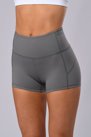 Twist Shorts (Steel Grey)