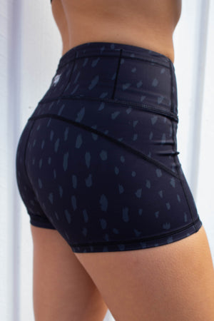 Twist Shorts (Light Cheetah)