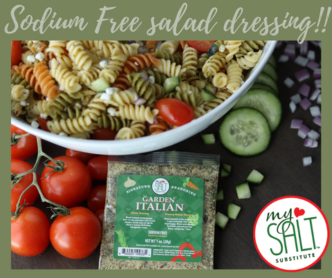 Sodium Free Salad Dressing