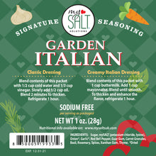 Load image into Gallery viewer, Garden Italian Dressing Sodium Free