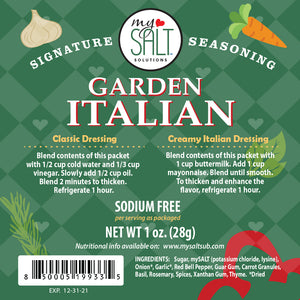 Signature Seasoning Garden Italian