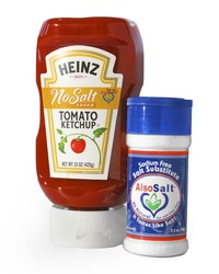 Heinz Ketchup, No Salt Added with AlsoSalt