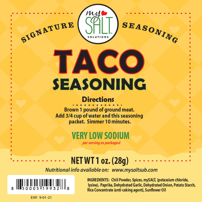 Signature Seasoning Taco Seasoning Mix