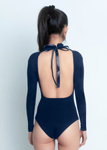 Load image into Gallery viewer, Caitlin Bodysuit - Navy - Nacré