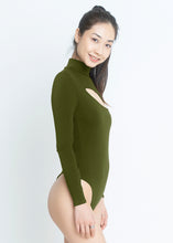 Load image into Gallery viewer, Emily Bodysuit - Olive Green - Nacré