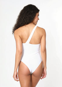 Bella Bodysuit - White (Limited Edition) - Nacre