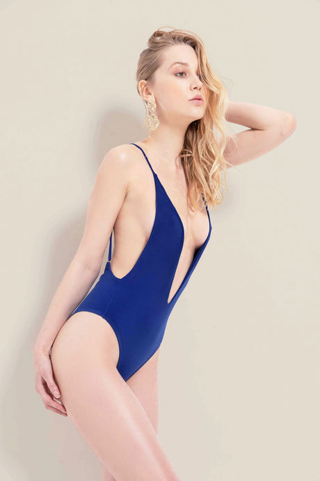 Emma Bodysuit - Midnight Blue - Nacré