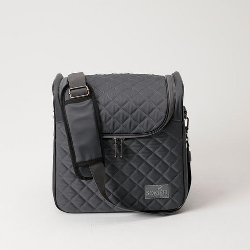 Someh Compact Grooming Bag - Equestrian Grey