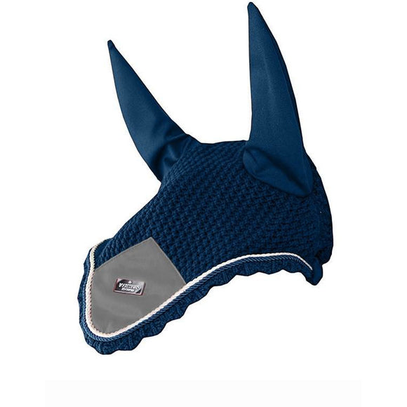 Equestrian Stockholm Moroccan Blue Fly Hood