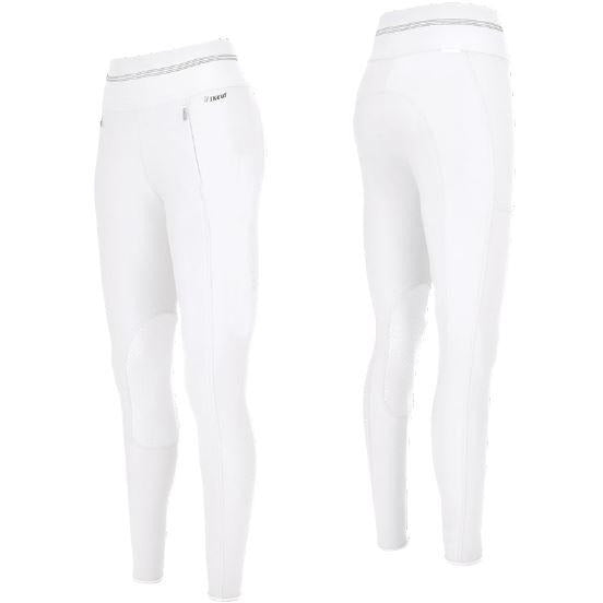 Pikeur Gia Grip Athleisure Knee White 145874