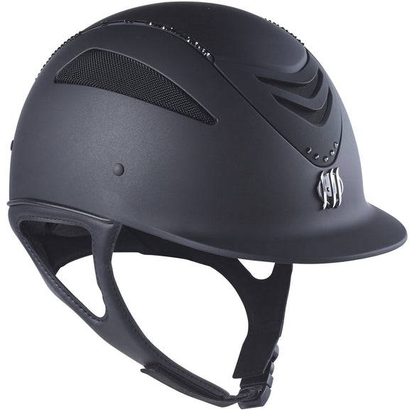 One K Swarovski Crystal Helmet - Black