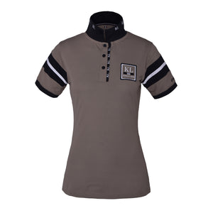 Kingsland Marbella Technical Polo Shirt - Beige Cashew