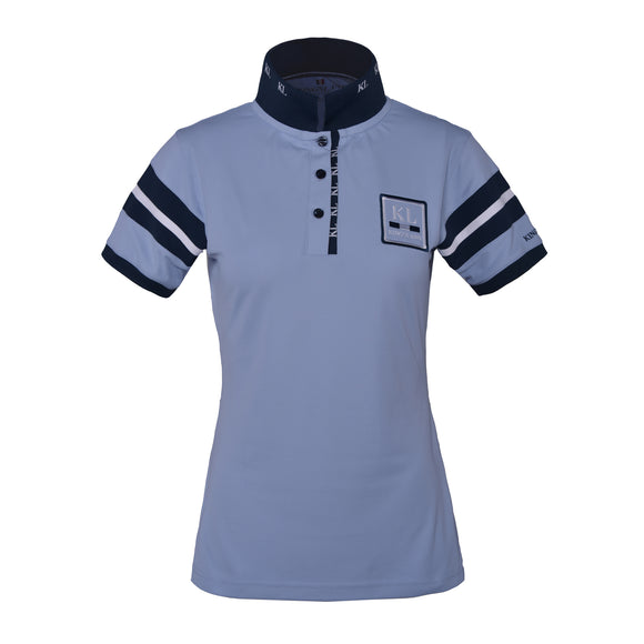 Kingsland Marbella Technical Polo Shirt - Blue Kentucky