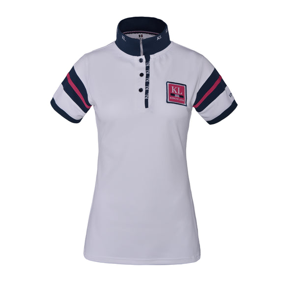 Kingsland Marbella Technical Polo Shirt - White
