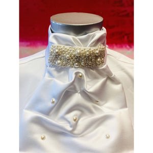 ShowQuest Contessa Pearl Ready-Tied Stock