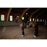 Equestrian Stockholm Black and Gold Edition Fleece Bandages