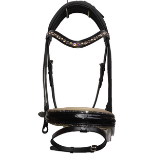 Otto Schumacher Warendorf Snaffle Bridle - Ready to Wear - Full Size