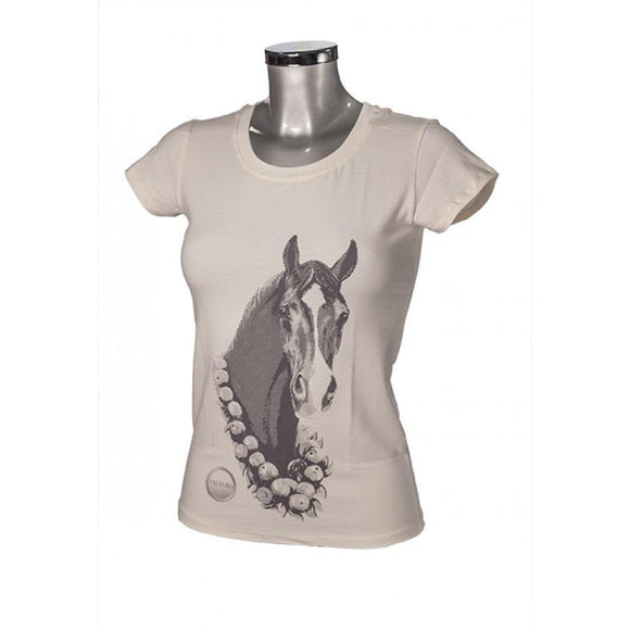 Valegro Youth T-Shirt - Cream