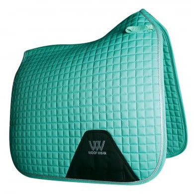 Woof Wear Dressage Saddle Cloth - Mint and Powder Blue