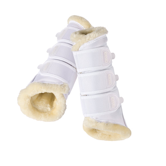 Eskadron Faux Fur Tendon Boots