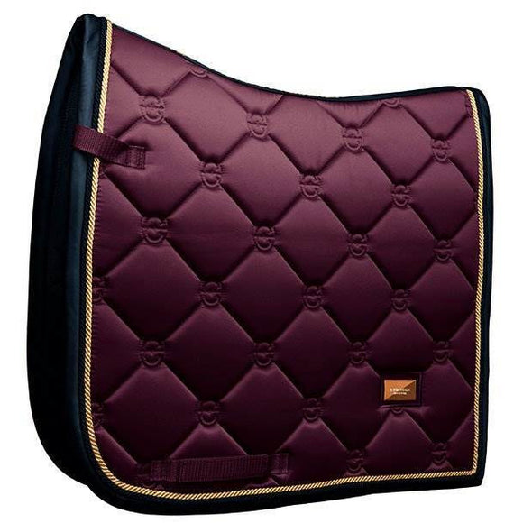 Equestrian Stockholm Purple And Gold Edition Saddle Pad