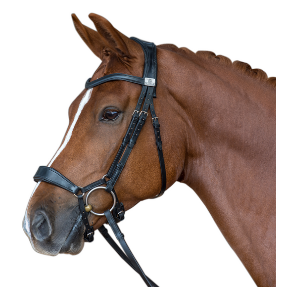 Fairfax Snaffle Bridle - Drop