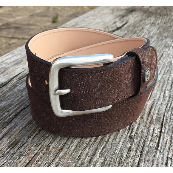 Otto Schumacher Star Brown Belt - Ready to Wear