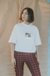 Cropped Mood Tee Bone