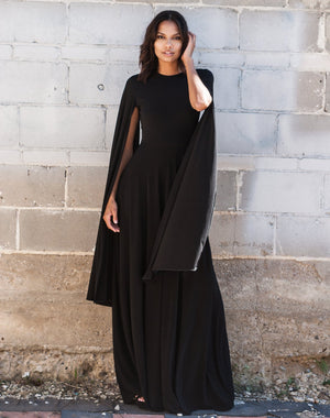 King Maeve Capelet Dress