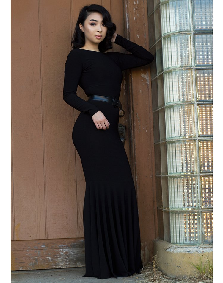 Simply Noir Mermaid Dress