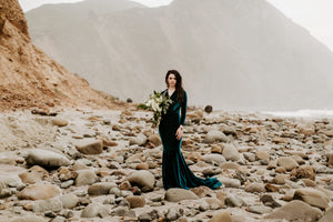 Veronica Velvet Mermaid Gown