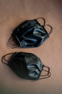 Black Poly-Silk Mask