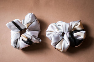Lucia Satin Scrunchie