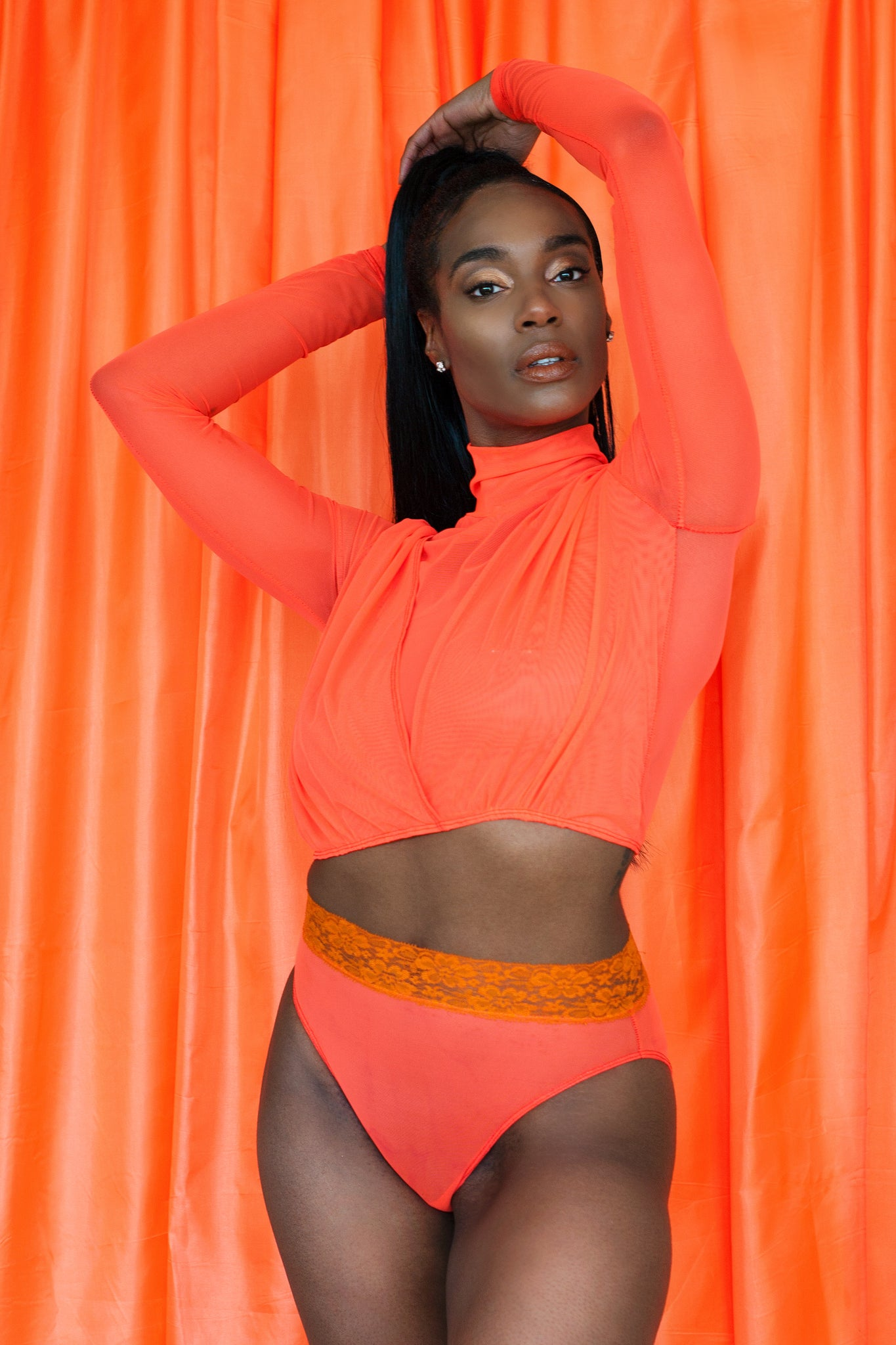 Highlighter Series - Custom Cut Highwaist Panties