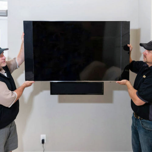 Second Technician To Lift TV