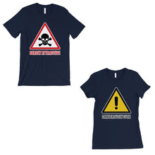 Load image into Gallery viewer, Attractive & Cute Matching T-Shirts Navy Cute Valentine's Day Gift