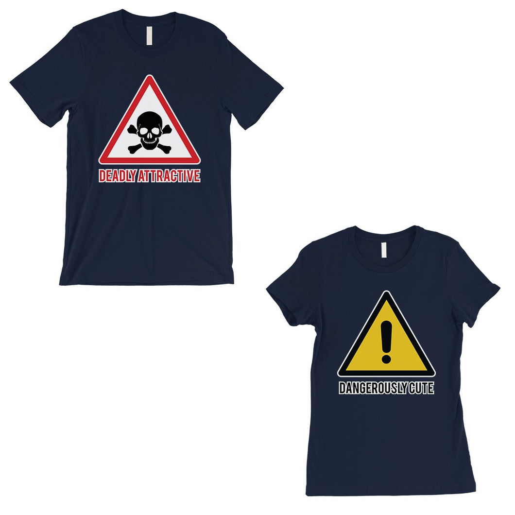 Attractive & Cute Matching T-Shirts Navy Cute Valentine's Day Gift