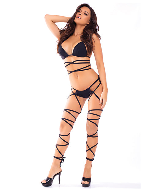 Lace Up Lover Set