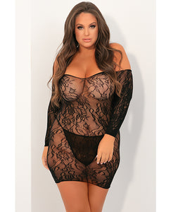 Seductive Lace Dress - Queen
