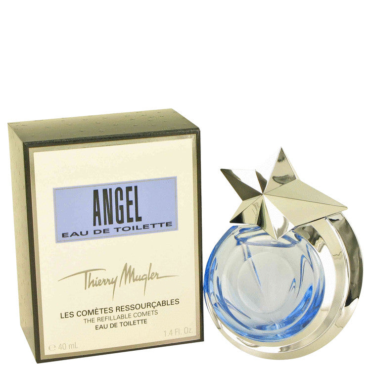 ANGEL by Thierry Mugler Eau De Toilette Spray Refillable 1.4 oz for Women - Black Olive
