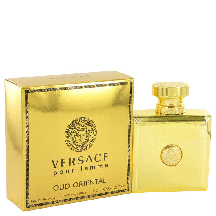 Versace Pour Femme Oud Oriental by Versace Eau De Parfum Spray 3.4 oz for Women