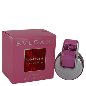 Omnia Pink Sapphire by Bvlgari Eau De Toilette Spray oz for Women