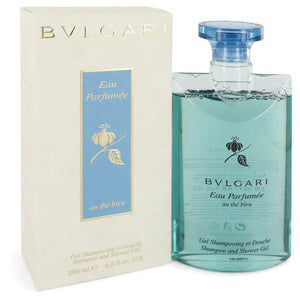 Bvlgari Eau Parfumee Au The Bleu by Bvlgari Shower Gel 6.8 oz  for Women