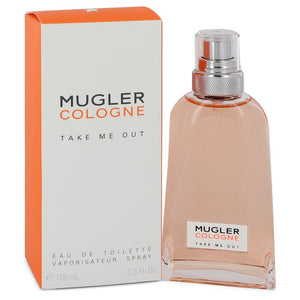 Mugler Take Me Out by Thierry Mugler Eau De Toilette Spray (Unisex) 3.3 oz for Women