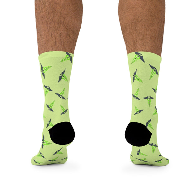 Caduceus Socks